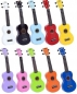 Preview: Mahalo MR1rd Rainbow red Sopran Ukulele