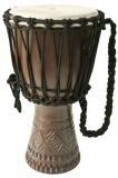 Afromali Djembe 11 carved