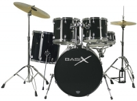 Basix Classic Plus Rock Drum Set