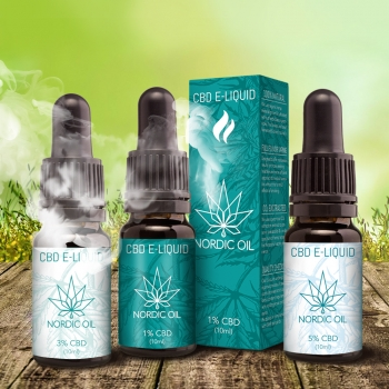 Nordic Oil CBD E-Liquid ( 5% / 500mg CBD)