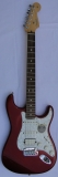 Fender American Lone Star Fat Strat Texas Special metallic red