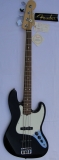Fender American Jazz Bass RW black