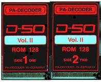 PA-Decoder D-50 Volume-2 Sound Card
