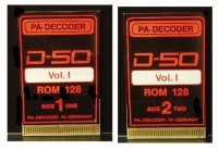 PA-Decoder D-50 Volume-1 Sound Card