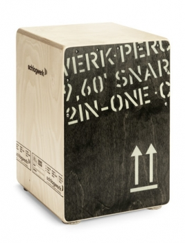 Schlagwerk CP403blk Cajon 2inOne medium black Edition