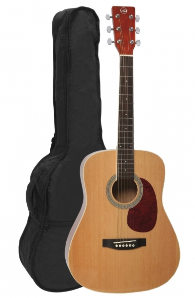 VGS D-Baby Mini Dreadnought Westerngitarre natur