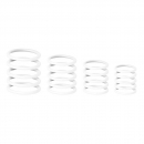 Gravity RP5555WHT1 G-Rings ghost white