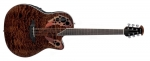 Ovation CE-48P-TGE Celebrity Elite Plus Super Shallow Tiger Eye