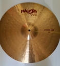 Paiste 3000 20 Power Ride Becken alte Serie